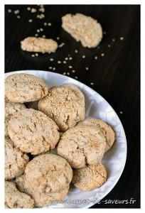 Cookies au sésame et à la cannelle