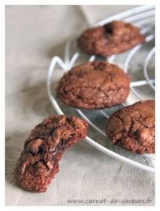Cookies façon brownie