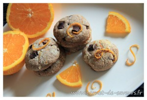 Cookies choco-orange