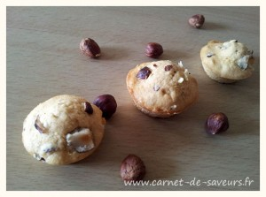 Muffins noisette speculoos