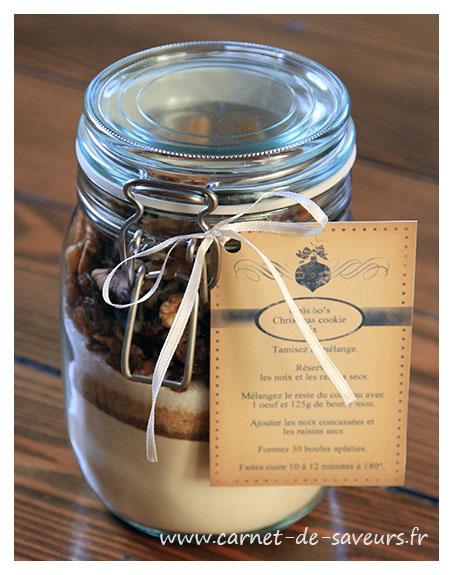 cadeau gourmand m lange pour cookies fa on pain d pices carnet de saveurs. Black Bedroom Furniture Sets. Home Design Ideas