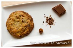 Cookies au chocolat et au café
