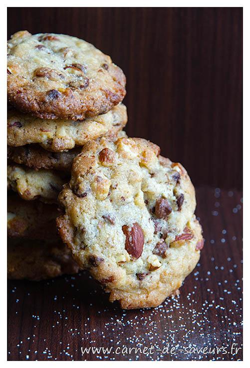 Cookies chocolat et beurre salé