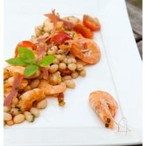salade_haricot_blanc_crevette